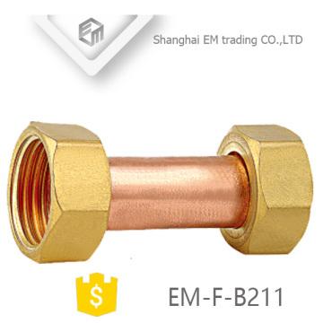 EM-F-B211 Female thread equal copper tube pipe