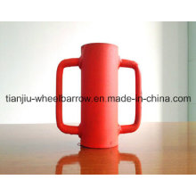 China fez acessórios de suporte de aço de andaime Tj0002