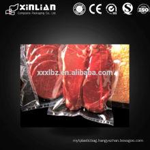 food grade plastic transparent vacuum compression bag