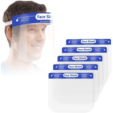 Safety Face Shield Full Face Transparant Ademend