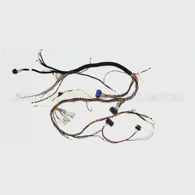 auto dashboard wire harness
