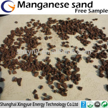 1-2,2-4,4-6mm meio de filtro de água manganês areia