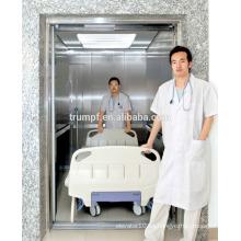 Gran ascensor de hospital de alta capacidad | cómodo elevador médico