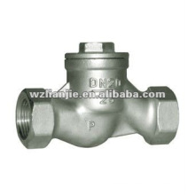 CF8M S-Type Screwed End Swing Check Valve