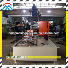 broom manufacturering machine /trimming and flagging machines/broom toilet brush making machine