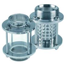 Продольное стекло из нержавеющей стали для пищевой промышленности (IFEC-SG100003)