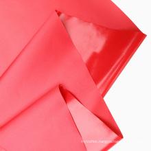 Customizable High Strength 100% Polyester 70D Coated Waterproof Eco-friendly 0.08mm TPU Matt Fabric