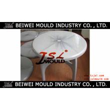 Moule de table à manger ronde en plastique injectable