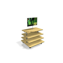 4 Tier Melamine MDF Display Stand