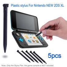 Пластиковый Стилус игровая приставка Сенсорный экран ручка для Nintendo хромосоме 2ds XL с / ЛЛ игровая приставка черный белый