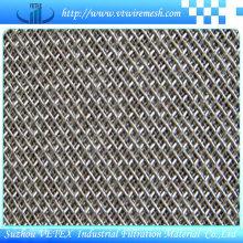 Treillis métallique fritté en acier inoxydable à cinq couches