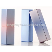 Color year of 2016 hot square shape lipstick container with gradient coating