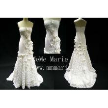 Made in China Sweetheart trägerlosen rückenfreien Hochzeitskleid Brautkleid mit Eipper BYB-14598