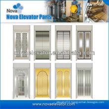 Standard Hairline Stainless Steel Elevator Door Panel,Lift Car Door
