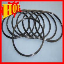 Melhor qualidade revestido de 0,1 mm fino fio de titânio preto