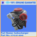 Turbocompressor PC300-7 pc360-7 assy 6743-81-8040
