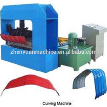 crimp curved automatic roll forming machine/arched roof panel curving machine