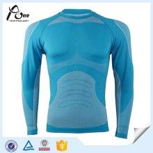 Men′s Slimming Body Shaper Long Sleeve Thermal Undershirt