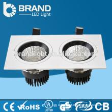 CE RoHS China Factory Duas cabeças 2 * 10W retangular levou downlight