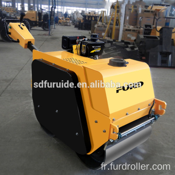 Double Drum Manual Vibrating Road Roller with Variable Speed (FYLJ-S600C)