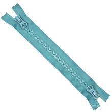 5 # plástico Zipper Open End de dos vías de bloqueo automático