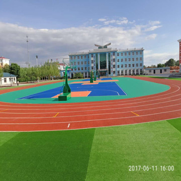Outdoor Interlocking Modulare Sportplatzfliese