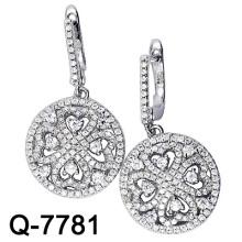 Boucle d'oreille en micro argent 925 (Q-7781)