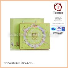 Caja de regalo de lujo de encargo para los cosméticos, la joyería, el chocolate