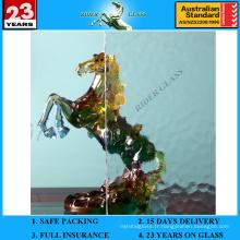 Verre à motif Aqualite clair de 3 à 8 mm avec AS / NZS2208: 1996