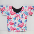 Mais novo Flamingo T-shirt Neoprene Can Coolers
