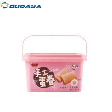 Экологичный пластиковый контейнер для пищевых продуктов IML PP