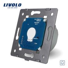 Livolo Fabricant Norme EU 110 ~ 250V La base de l'interrupteur de sonnerie de porte murale à écran tactile VL-C701B