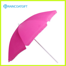 Großhandelskundengebundener Entwurfs-Förderung-großer Strand-Regenschirm im Freien