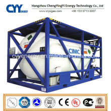High Pressure Lox LNG Lco2 Lin Lar Cryogenic Tank Container