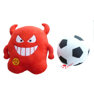 Football mascotte réversible Peluches