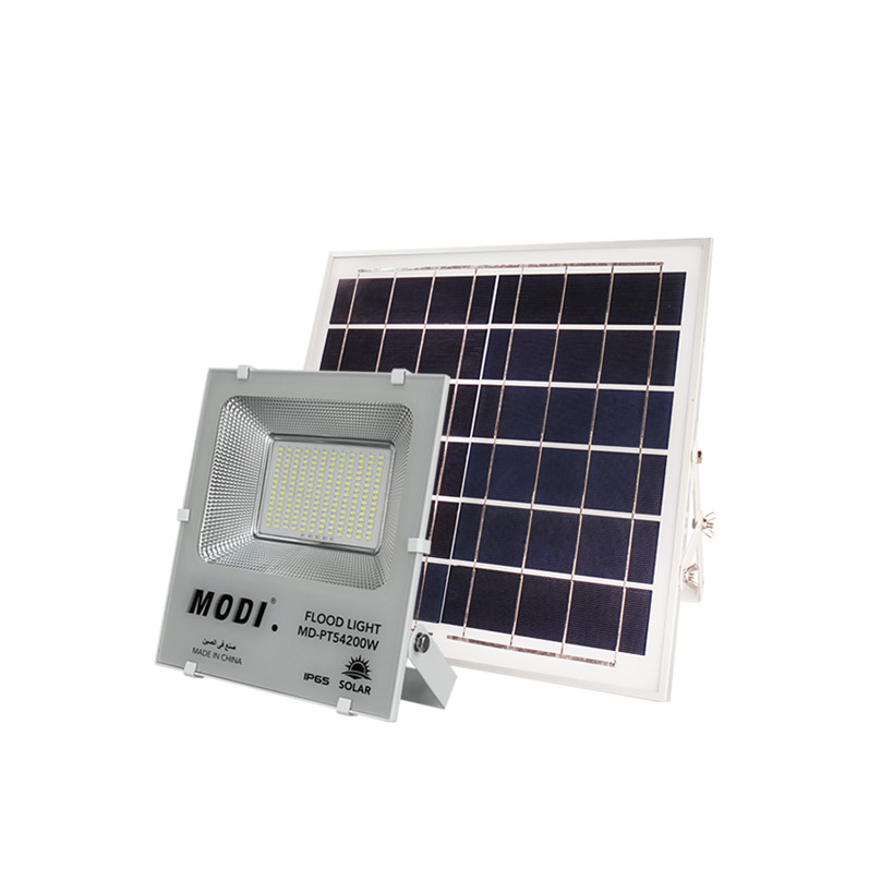 Solar Panel Security Light