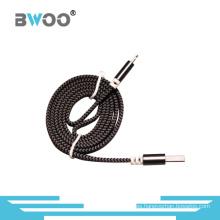 Nuevo diseño de moda Cable USB de alta calidad con cable trenzado