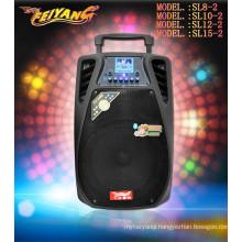 Newest 12inch Speaker Rechargeable Powerful Loud Speaker with Headphone SL-12-02
