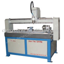 JK-6015(4 axis) cnc router 3d