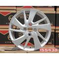 a roda de arame cromado cobre a jante mag de 17 polegadas