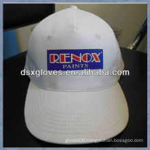 White advertisment baseball cap cotton printed advertisment baseball cap