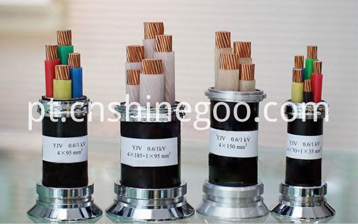 Cooper Conductor Power Cable