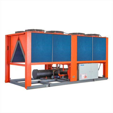120rt Industrial Process Cooling Chiller Air Cooled Type Screw Water Chiller