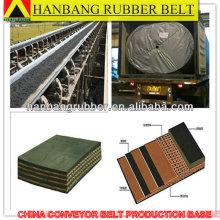 Chevron Oil Resistant conveyor belts EP500