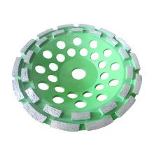 Rodas de retificação de copo de diamante de duas carreiras rápidas para concreto