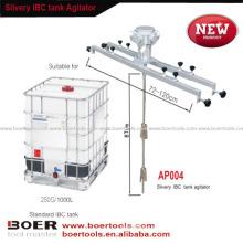 Batedor de ar Slivery modelo novo do misturador da pintura do ar do agitador do tanque de IBC