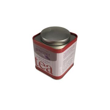Boîte à thé en gros Boîte en conditionnement en étain en métal