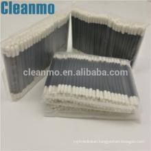 Double Small Head Foam Tip Cleaning Swab Cleanroom Foam black handle sponge swabs