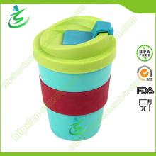 8 Unzen BPA-Free erschwingliche Werbe-Kaffeetasse mit Deckel