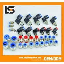 Usinagem de peças de acessórios de linha de gás plástico da China Fornecedores